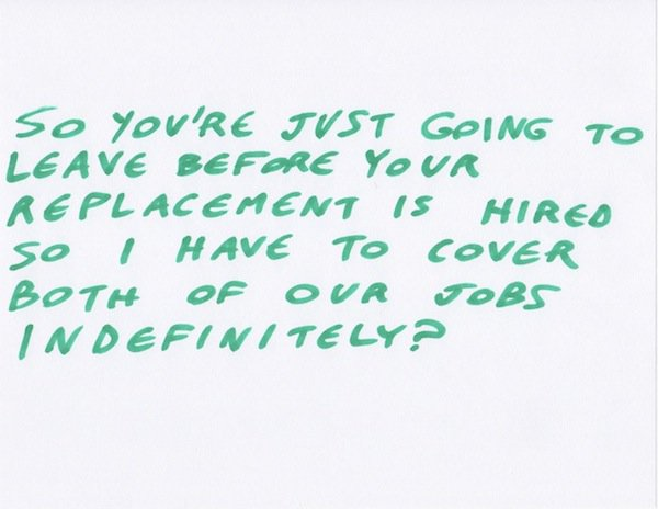 Hilariously Honest Farewell Messages To Coworkers